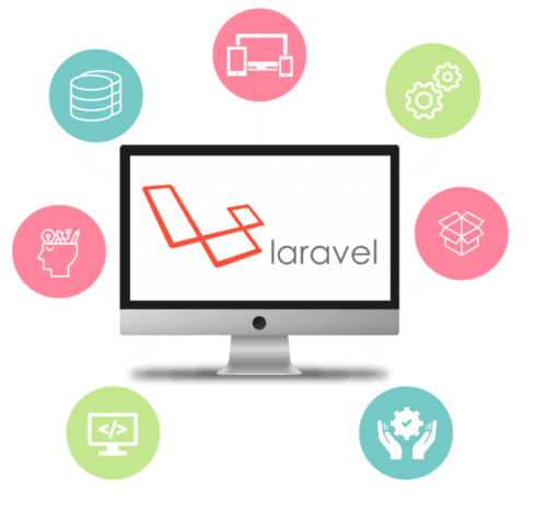 Get your business web solutions weaved on the most demanding PHP based web framework, Laravel